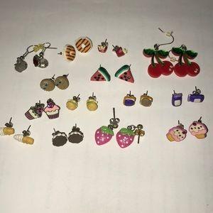 Food Earrings